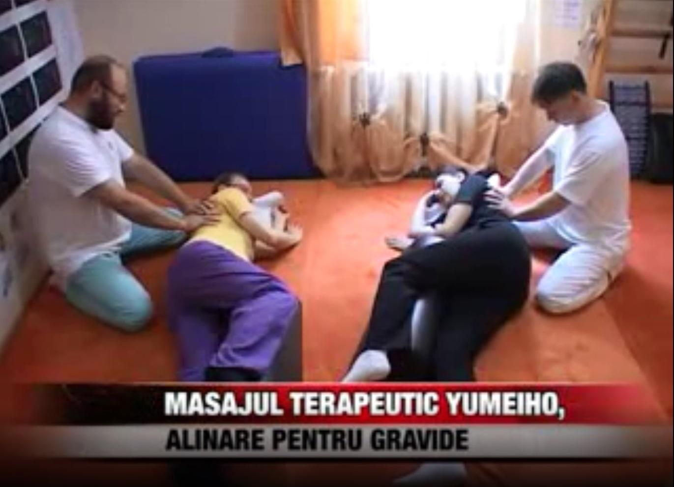 Alinare pentru gravide - Masaj terapeutic Yumeiho